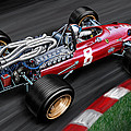 Ferrari 312 F-1 Car by David Kyte