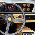 Ferrari 3.2 Mondial Cabriolet Interior by Roger Mullenhour