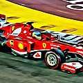 Ferrari F1 Beauty by Florian Rodarte