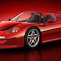 Ferrari F50 - Flare by Marc Orphanos