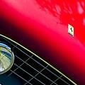 Ferrari Grille Emblem - Headlight by Jill Reger