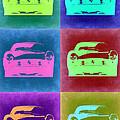 Ferrari Pop Art 2 by Naxart Studio