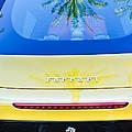 Ferrari Rear Emblem -0062c by Jill Reger
