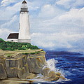 Ferrels Lighthouse by D L Gerring