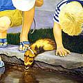 Ferret And Friends by Karen Zuk Rosenblatt