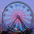 Ferris At Dusk by Shawn MacMeekin