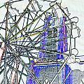 Ferris Wheel 2 by Kimberlee Marvin
