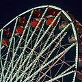 Ferris Wheel After Dark by Joe Kozlowski