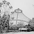 Ferris Wheel And R F P Pavilion - Spokane Washington by Daniel Hagerman