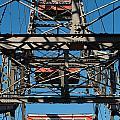 Ferris Wheel At Vienna Prater by Frank Gaertner