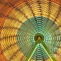 Ferris Wheel Evergreen State Fair by Jim Corwin