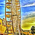 Ferris Wheel In Lb by Joseph Hollingsworth