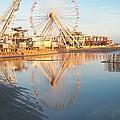 Ferris Wheel Jersey Shore 2 by Eric  Schiabor