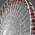 Ferris Wheel by Mary Cloninger