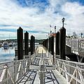 Ferry Dock by Bob Slitzan
