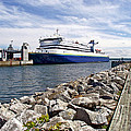 Ferry From North Sydney-ns To Argentia-nl by Ruth Hager