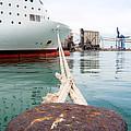 Ferry Mooring by Roy Pedersen