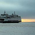 Ferry Sealth In The Fog by E Faithe Lester