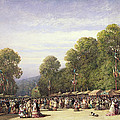 Festival At St. Cloud, C.1860 by William Wyld