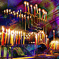 Festival Of Lights by Barbara Berney
