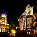 Festival Of Lights Gendarmenmarkt Berlin by Christiane Schulze Art And Photography