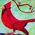 Festive Cardinal by Eloise Schneider Mote