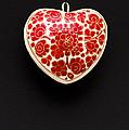 Festive Heart by Anne Gilbert