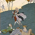Fetes Galantes by Georges Barbier