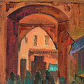 Fez Town Scene by Diane McClary