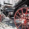 Fiaker Carriage In Vienna by JR Photography