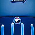 Fiat 750 Mm Zagato Panoramica Coupe Grille Emblem by Jill Reger
