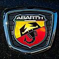 Fiat Abarth Emblem by Jill Reger