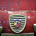 Fiat Grille Emblem -0725c by Jill Reger