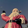 Fiberglass Santa Claus by Edward Fielding