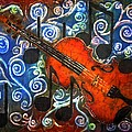 Fiddle - Violin by Sue Duda