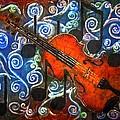 Fiddle - Violin by Sue Duda