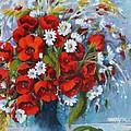 Field Bouquet 2 by Marta Styk