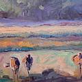 Field Of Crane by Alaskan Raven Studio