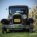 Field Of Dreams Vintage Ford Model A Tudor  by Inspired Nature Photography Fine Art Photography