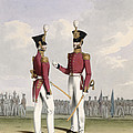 Field Officers Of The Royal Marines by L. and Eschauzier, St. Mansion