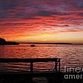 Fiery Afterglow by Ann Horn
