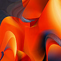 Fiery Color For Iphone Art by rd Erickson