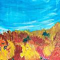 Fiery Fall In The Hills by Eliza Donovan