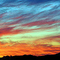 Fiery July Sunset by Jaime Weatherford