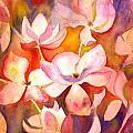 Fiery Magnolias by Kelly Perez