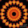 Fiery Pattern by Image World