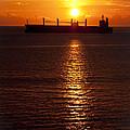 Fiery Sunset by Chandru Murugan
