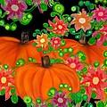 Fiesta Pumpkins by Christine Fournier