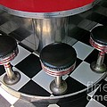 Fifties Diner Detail by John Malone
