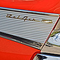 Fifty Seven Chevy Bel Air by Frozen in Time Fine Art Photography